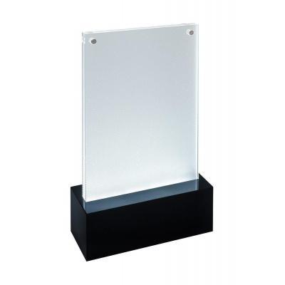 Sigel LED, 105 x 148 mm, Acrylic, 2 x 1.5 V AA, black