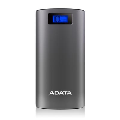 ADATA P20000D Powerbank - Grijs