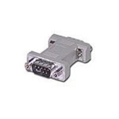 C2G DB9 M/M Changer Kabel adapter - Grijs