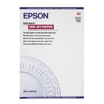 Epson Photo Quality, DIN A2, 102g/m² Fotopapier - Wit