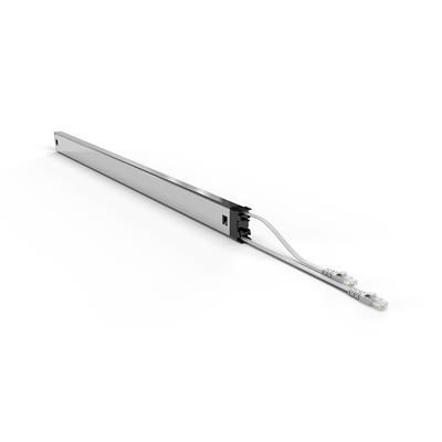 PATCHBOX ® Plus+ Cat.6a Cassette (STP, Grey, Long Range 1.8m + 0.7m / 46RU) Netwerkkabel - Grijs