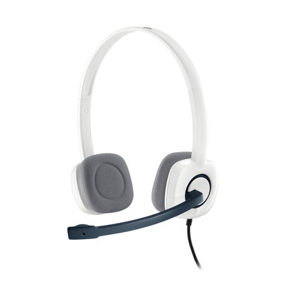 Logitech headset: H150 - Wit