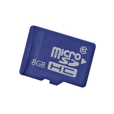 Hewlett Packard Enterprise 8GB microSD Flashgeheugen - Blauw