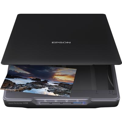 Epson Perfection V39 Scanner - Zwart