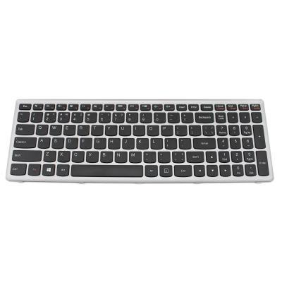 Lenovo notebook reserve-onderdeel: Keyboard for IdeaPad Z500 - Zwart, Zilver