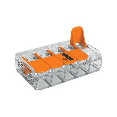 Qubino elektrische aansluitklem: Splicing Connector - Oranje, Transparant