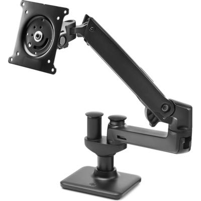 HP Hot Desk-arm voor 2e monitor Monitorarm - Zwart
