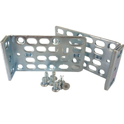 Cisco 1 RU recessed rack-mount kit for Catalyst 2960-X Series Rack toebehoren - Metallic