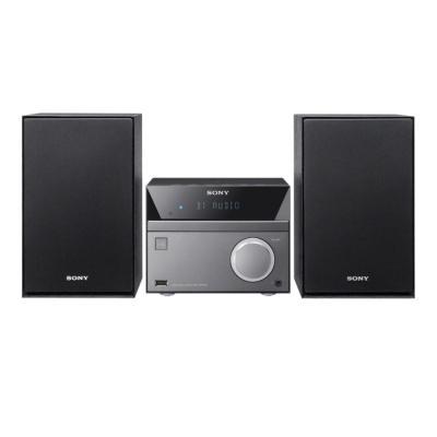 Sony home stereo set: CMT-SBT40D - Zwart, Grijs