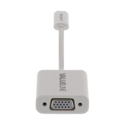 Valueline : USB 3.1, USB-C, VGA, 0.15m - Wit