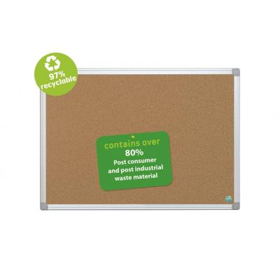 Bi-office magnetisch bord: Environmentally Friendly Maya Notice Board - Bruin