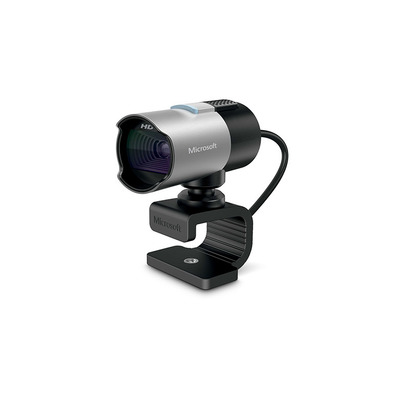 Microsoft LifeCam Studio for Business Webcam - Zwart, Zilver