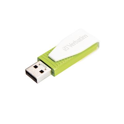 Verbatim Store 'n' Go Swivel USB flash drive - Groen