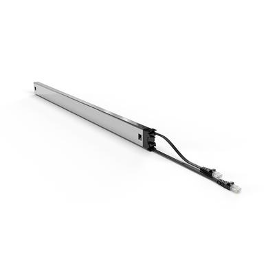 PATCHBOX ® Plus+ Cat.6a Cassette (STP, Black, Long Range 1.8m + 0.7m / 46RU) Netwerkkabel - Zwart