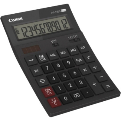 Canon calculator: AS1200HB - Grijs