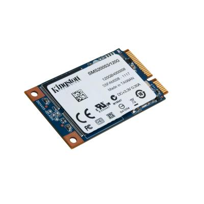 Kingston Technology SSD: SSDNow mS200 120GB - Zwart, Blauw