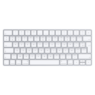 Apple toetsenbord: MLA22 - Zilver, Wit