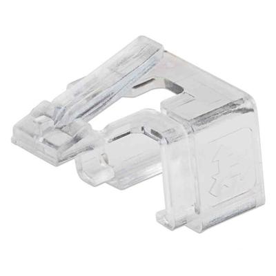 Intellinet RJ45 Repair Clip, For RJ45 modular plug, Transparent, 50 pack Kabelklem - Transparant