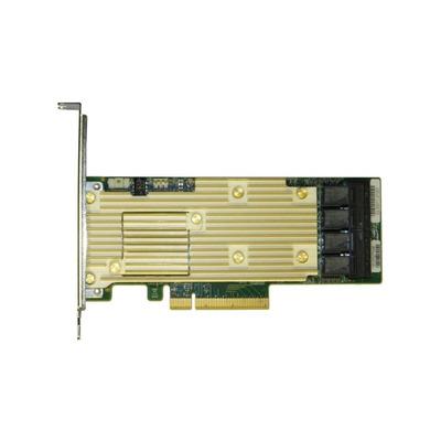 Intel Tri-mode PCIe/SAS/SATA Full-Featured RAID Adapter, 16 internal ports Raid controller