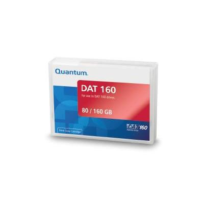 Quantum datatape: DDS/DAT Cleaning Cartridge II (For use with DAT 160 drives only) - Zwart