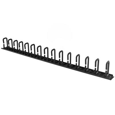 StarTech.com Verticale kabelmanager met D-ring haken kabelmanagement rack paneel rackmonteerbare kabelgoot .....