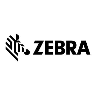 Zebra SAMPLE RIBBON WAX RED 1ROLL Thermische lint