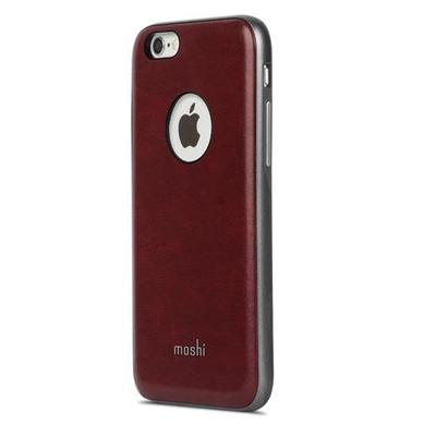 Moshi iGlaze Napa Mobile phone case - Bordeaux rood, Rood