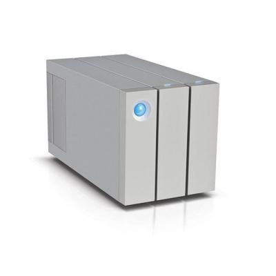 Lacie behuizing: 12 TB, 2 x HDD, 7200 RPM, USB 3.0, RAID, AES-256 bit - Aluminium