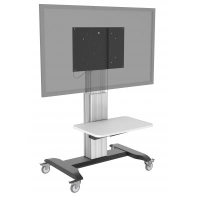 Vision TV standaard: TM-IFP vloerstandaard voor platte monitoren, 500 mm (19,7″) omhoog/omlaag, Snelheid 15mm/s, .....