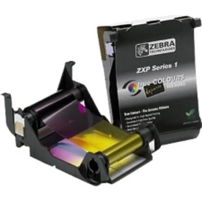 Zebra 800011-140 Printerlint - Zwart, Cyaan, Magenta, Geel