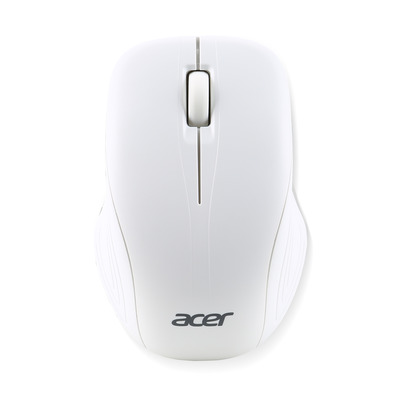 Acer computermuis: AMR510 - Zilver, Wit