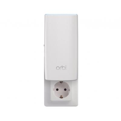 Netgear Orbi RBW30 Tri-Band AC2200 Mesh Wall Plug Node (1-Pack) wireless router - Wit