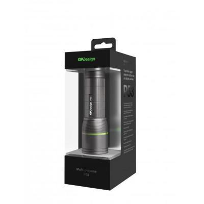 Gp batteries zaklantaarn: P53 - Zwart