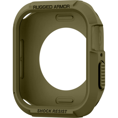 Spigen Apple Watch Series 4 (44mm) Case Rugged Armor - Olijf