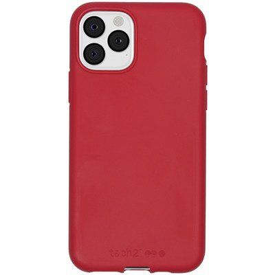 Antimicrobial Backcover iPhone 11 Pro - Terra Red - Rood / Red Mobile phone case