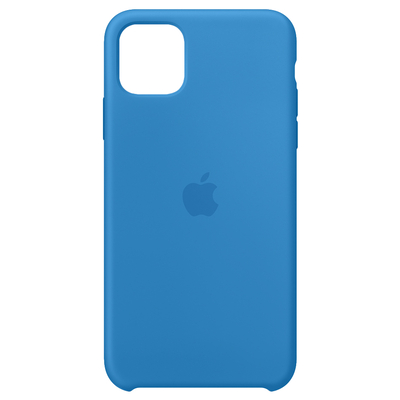 Apple Siliconenhoesje voor iPhone 11 Pro Max - Pacific Mobile phone case - Blauw