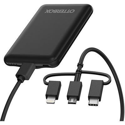 OtterBox Mobile Charging Kit – Standard Powerbank - Zwart