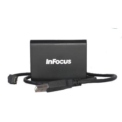 Infocus kabel adapter: USB naar HDMI adapter - Zwart