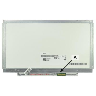 "2-power notebook reserve-onderdeel: 33.782 cm (13.3 "") , HD, 1366x768, LED, 318g - Multi kleuren"