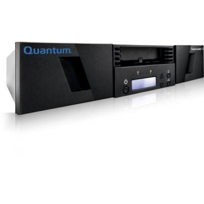 Quantum tape autoader: SuperLoader 3 - Zwart