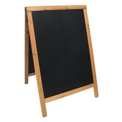 Securit bord: 565 x 65 x 890 mm, 5.35 kg - Zwart, Hout