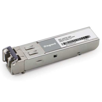 Legrand Dell[R] 407-10933 compatibele TAA-conforme 1000Base-SX SFP transceiver (MMF, 850 nm, 550 m, LC) Netwerk .....