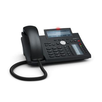 Snom D345 IP telefoon - Zwart,Blauw