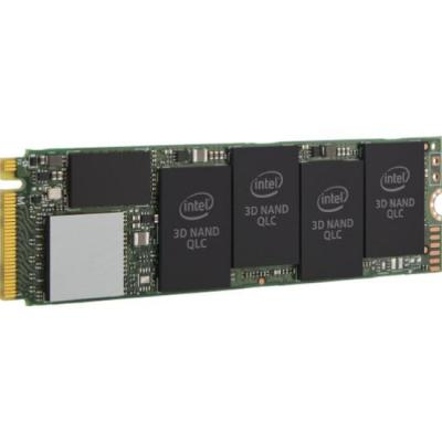 Intel SSD: SSD 660p Series - Zwart, Groen