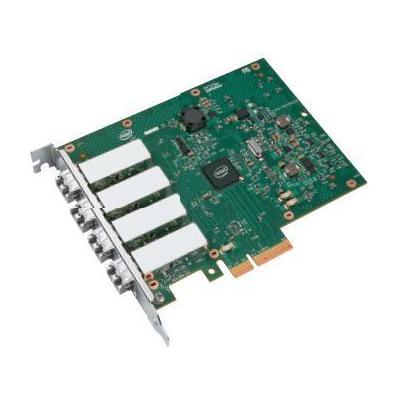 Intel netwerkkaart: Ethernet Server Adapter I350-F4 - MMF 50um/62.5um, TDP 6 W, PCIe v2.1 (5.0GT/s), 5 GT/s, x4 Lane