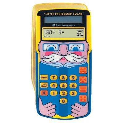 Texas Instruments Little Professor Solar Calculator - Multi kleuren