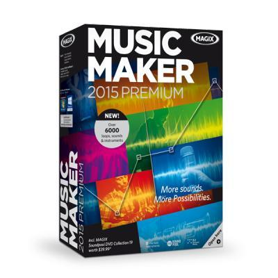 Magix audio software: Music Maker 2015 Premium