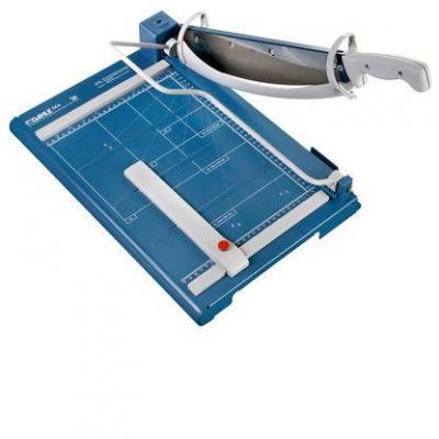 Dahle A4, 45 sheets, D-bar clamp, blue Snijmachine - Blauw, Grijs