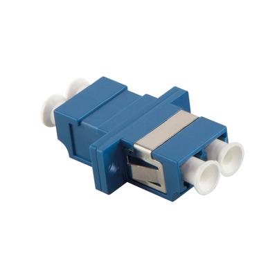 LogiLink LC/LC Fiber optic adapter - Blauw