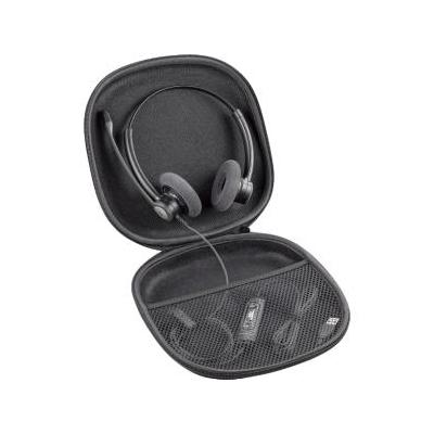 Plantronics koptelefoon accessoire: Blackwire Travel Case - Zwart
